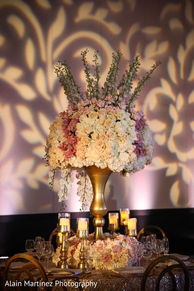 Astonishing indian wedding table centerpiece