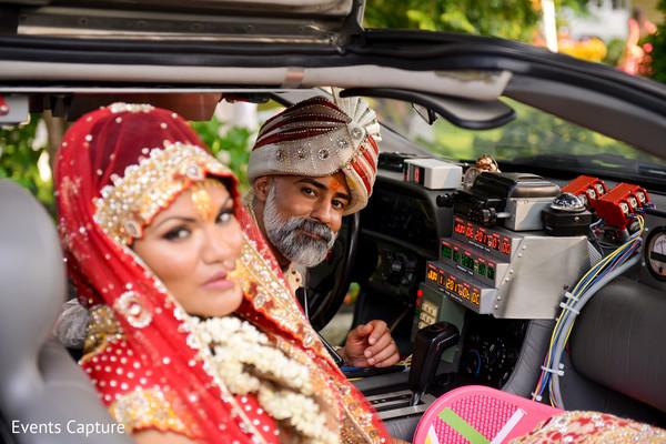 post wedding traditions,indian bride,indian groom,transportation