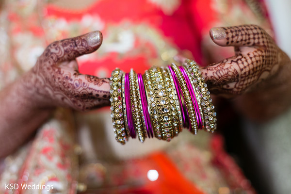 Indian bride glitz. in Hauppauge, NY Fusion Indian Wedding by KSD Weddings