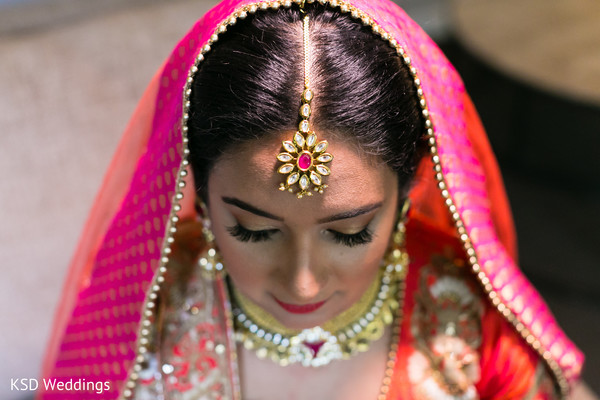 Beautiful bridal hair jewelry. in Hauppauge, NY Fusion Indian Wedding by KSD Weddings