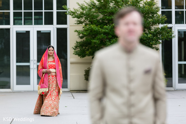Utterly lovely indian bride. in Hauppauge, NY Fusion Indian Wedding by KSD Weddings