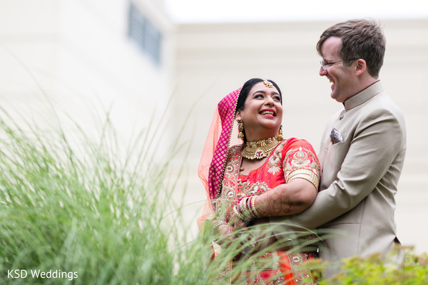 Cutest Indian bride and groom pre-weddding photo shoot. in Hauppauge, NY Fusion Indian Wedding by KSD Weddings