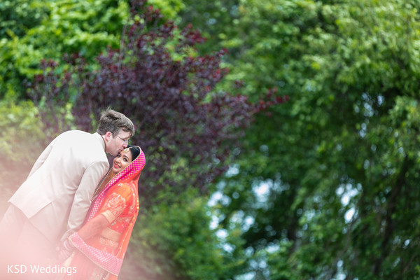 Fairy tale Indian bride and groom. in Hauppauge, NY Fusion Indian Wedding by KSD Weddings