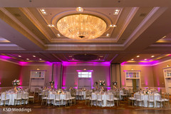 indian wedding reception,wedding stage,floral and decor,lightning