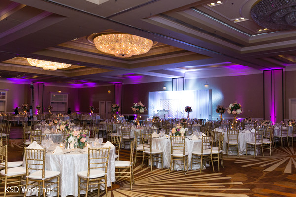 indian wedding reception,floral and decor,lightning