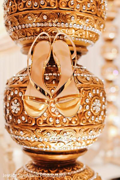 Elegant indian bridal shoes