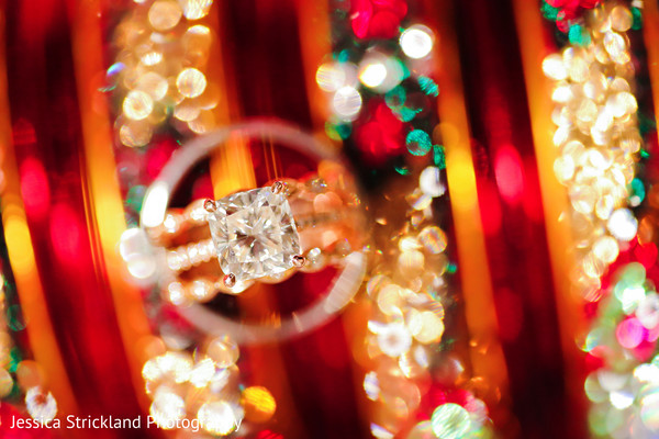 Stunning indian wedding engagement ring