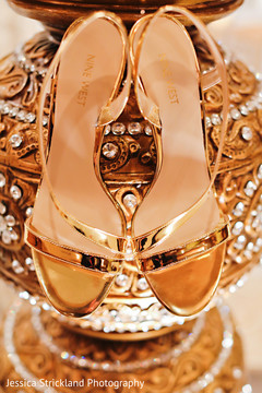 Indian bridal shoes
