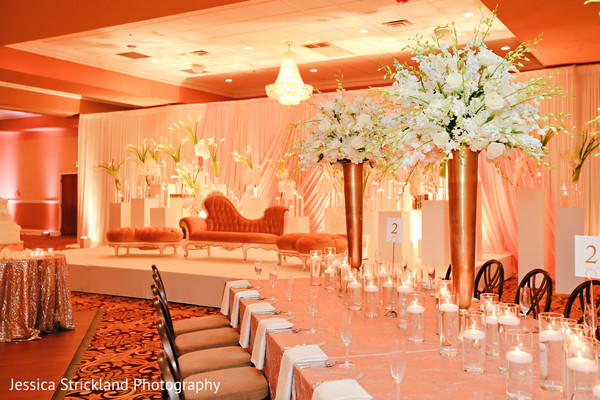 indian wedding planning and design,indian wedding reception floral and decor,indian wedding reception,floral centerpieces