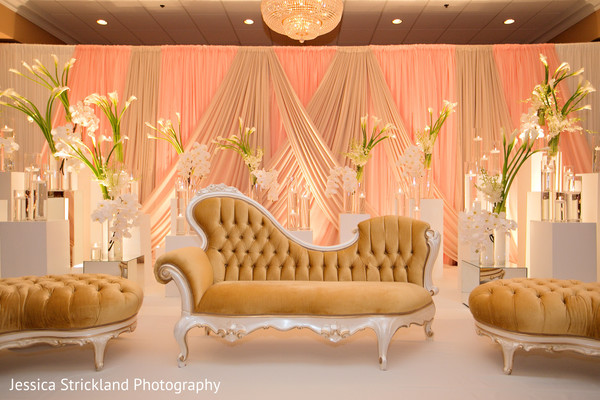 indian wedding reception floral and decor,indian wedding reception,reception stage