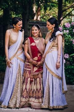 indian bride,indian wedding photography,indian bridesmaids,sari