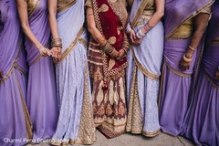 Inspirational Indian bridal party fashion.