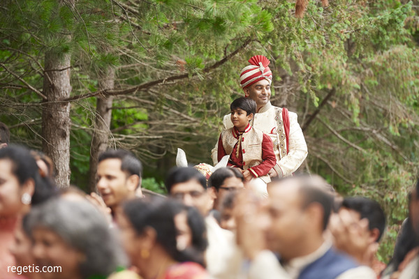 indian wedding baraat,baraat procession,indian groom fashion