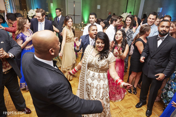 indian wedding reception,dj and entertainment,indian bride and groom