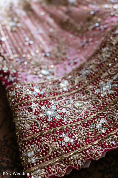 Indian bride lengha.