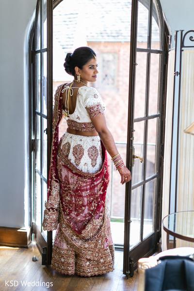 Inspiring Indian bride look.