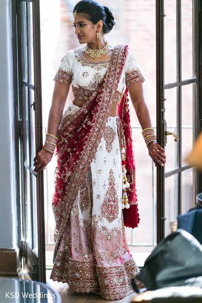 Utterly beautiful Indian bride lengha.
