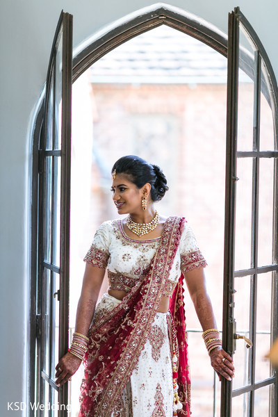 Mesmerizing Indian  Bridal portrait.