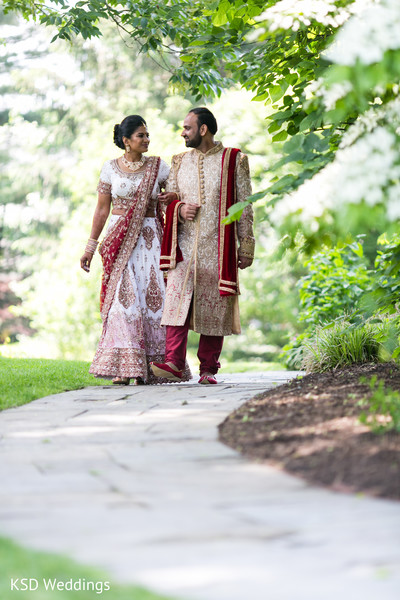 Indian bride and groom beautiful capture.