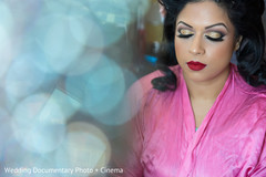 indian bride hair and makeup,indian bride,indian bride getting ready