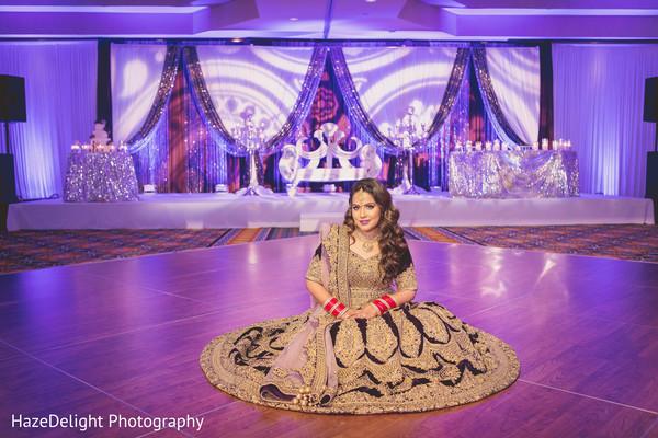 indian wedding reception,indian bride,lightning