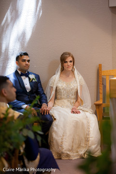 indian bride,indian groom,indian fusion wedding ceremony