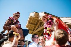 flower garlands,pre- wedding celebrations,india bride,indian groom