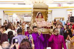 doli entrance,indian wedding ceremony,indian bride fashion