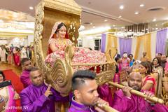indian bride fashion,indian wedding ceremony,doli entrance