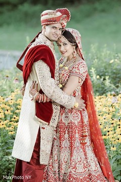 outdoor photography,indian groom sherwani,indian bride lengha