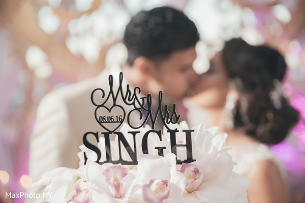 Indian wedding cake topper in Jamaica, NY Indian Wedding by MaxPhoto NY