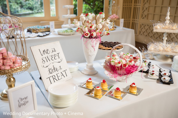 indian wedding reception,cake and treats,indian wedding desserts