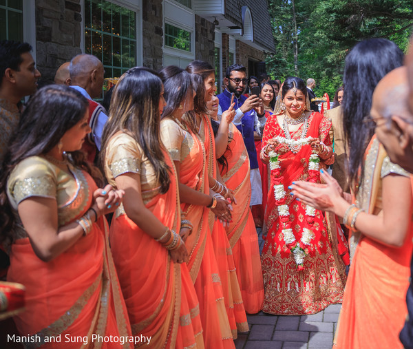 indian bride,pre-wedding ritual,indian bridesmaids