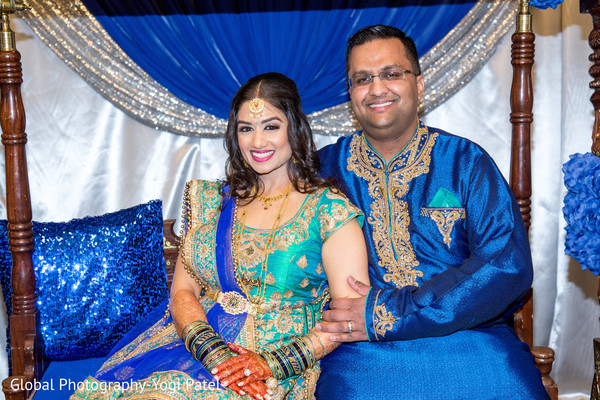 pre- wedding celebrations,sangeet,indian bride and groom portrait