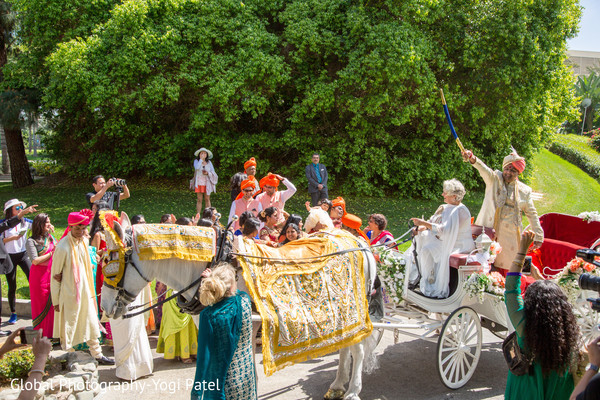 indian groom,pre- wedding celebrations,baraat procession,baraat carriage