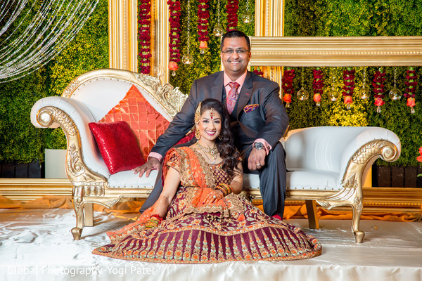 indian wedding reception,indian bride fashion,indian groom suit,indian bride and groom portrait