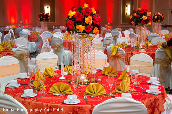 indian wedding reception,indian wedding reception floral and decor,indian wedding planning and design,floral centerpieces