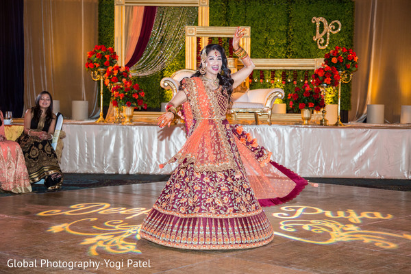 indian wedding reception,indian bride reception fashion,dj and entertainment