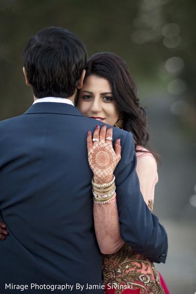 Graceful indian bride