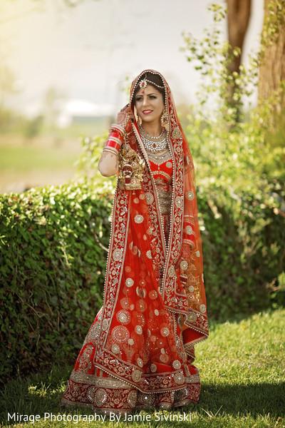 Dazzling indian bride