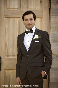 Elegant indian groom