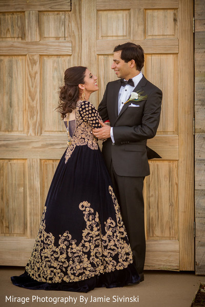 Fine indian bride and groom photo shoot