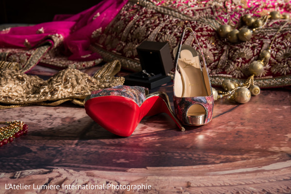 indian bride fashion,bridal shoes,indian bride shoes