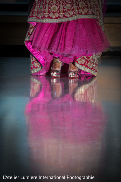 Charming indian bridal shoes