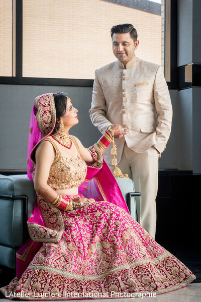indian groom fashion,indian bride fashion,first look photography