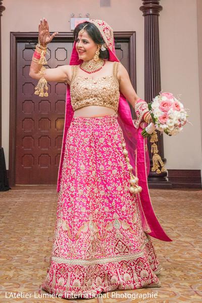 indian wedding ceremony,indian bride fashion,indian bridal bouquet