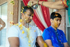 pre- wedding celebrations,indian groom,haldi ceremony,haldi