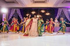 indian bridal fashions,choreography,indian wedding reception