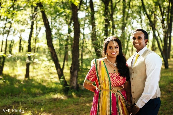 indian bride and groom portrait,outdoor photography,indian bride lengha,indian groom fashion