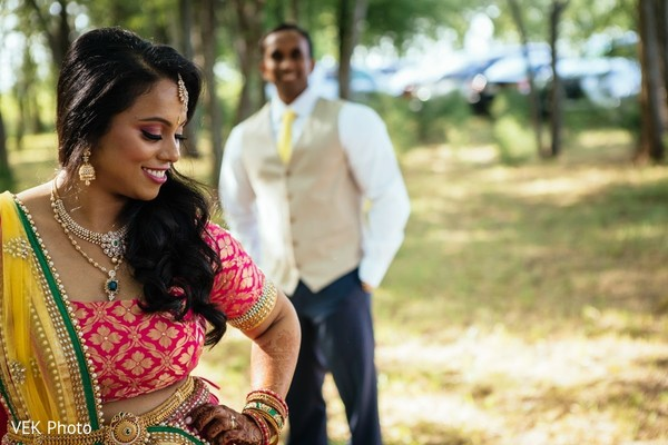 indian bride and groom,outdoor photography,indian bride lengha,indian groom fashion